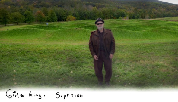 CharlElie at Storm King last year