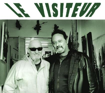 CharlElie & Jean Reno at the Re Gallery, New York, April 2013